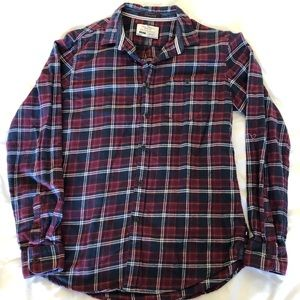 Other - On the Road Plaid Button Down Flannel Shirt